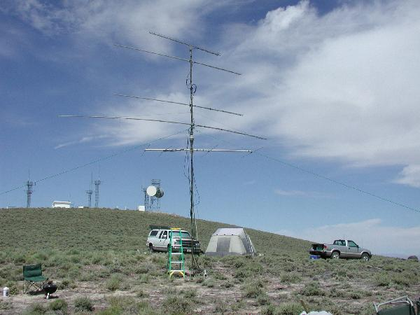 June 2001 W7KK DM18 UHF Station