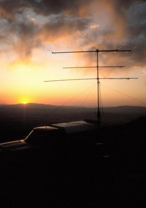 July 1994, DM19, 8000', Sunset