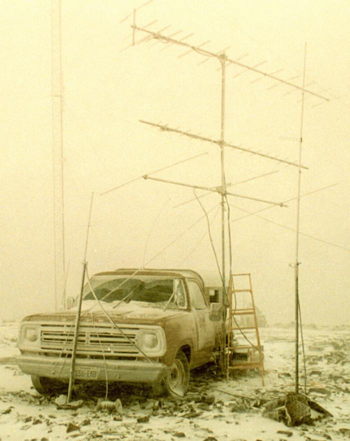 June 1992, 8000' Pond Peak, DM09, Ice Storm Sunday Morning